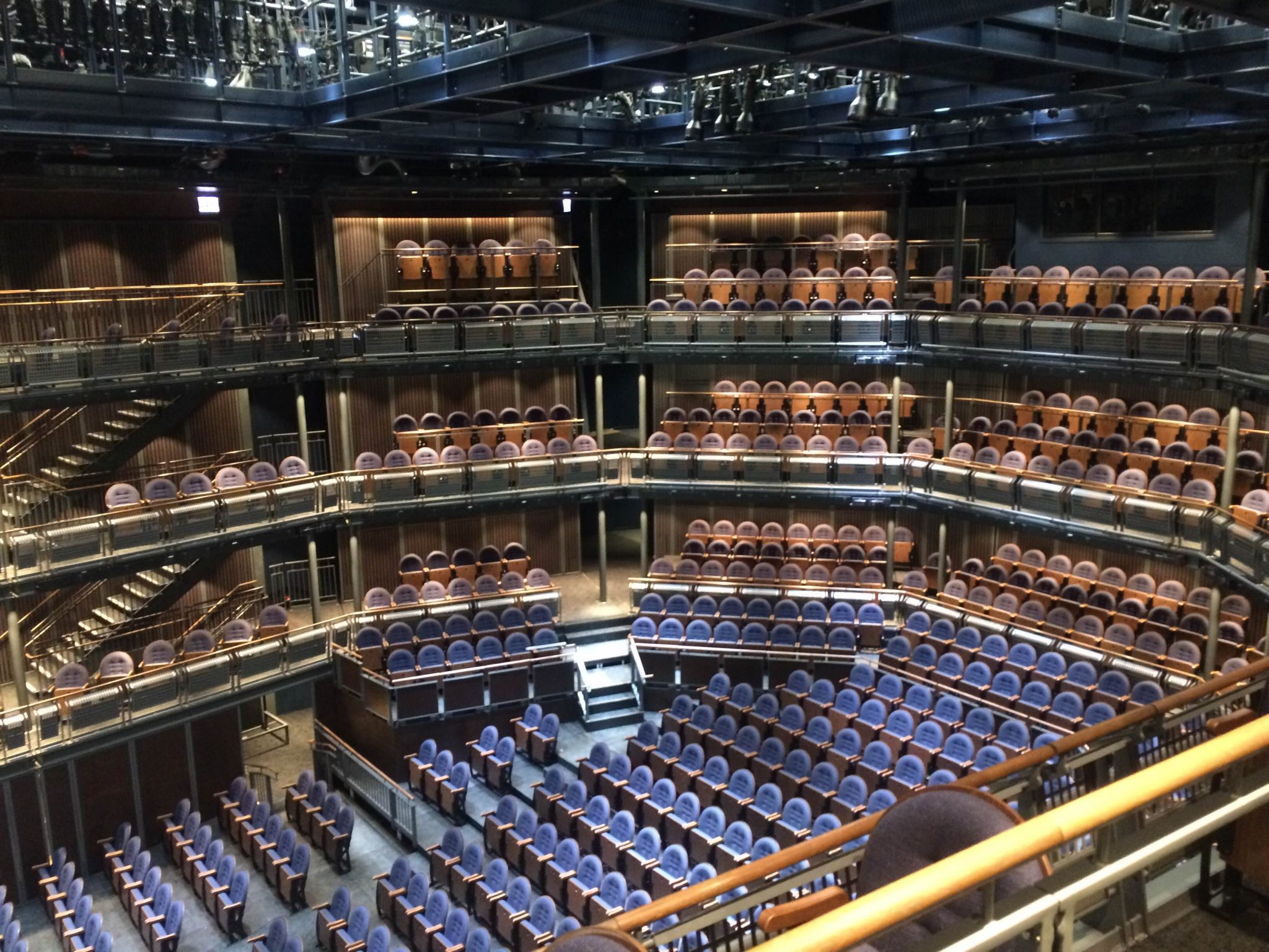 The Yard at Chicago Shakespeare Theater - Top view