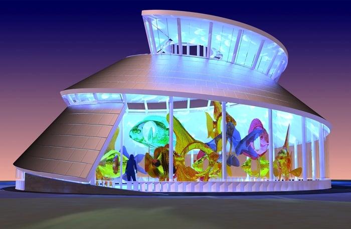 Building concept rendering