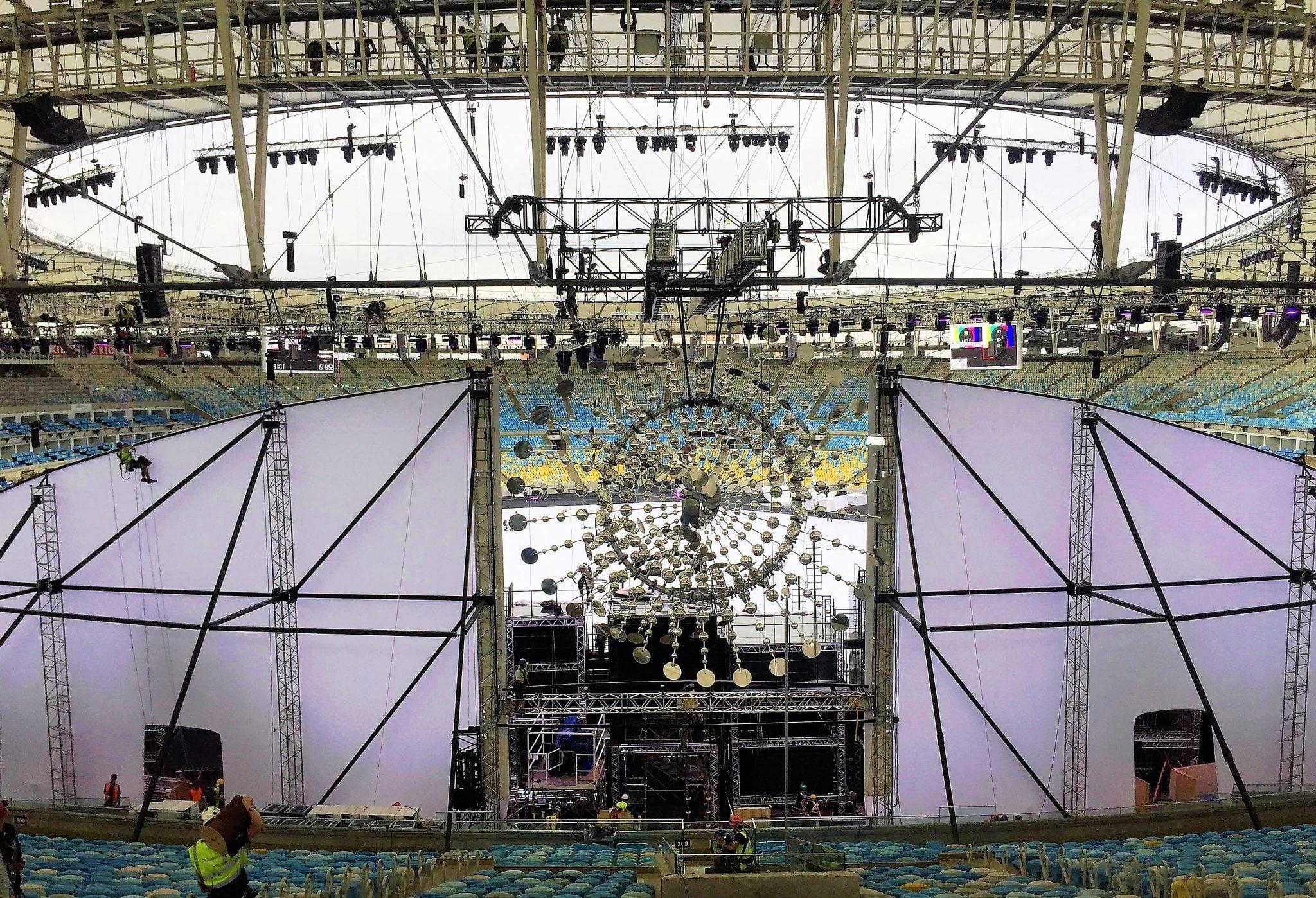 Rio olympics - Cyclorama with the Sun