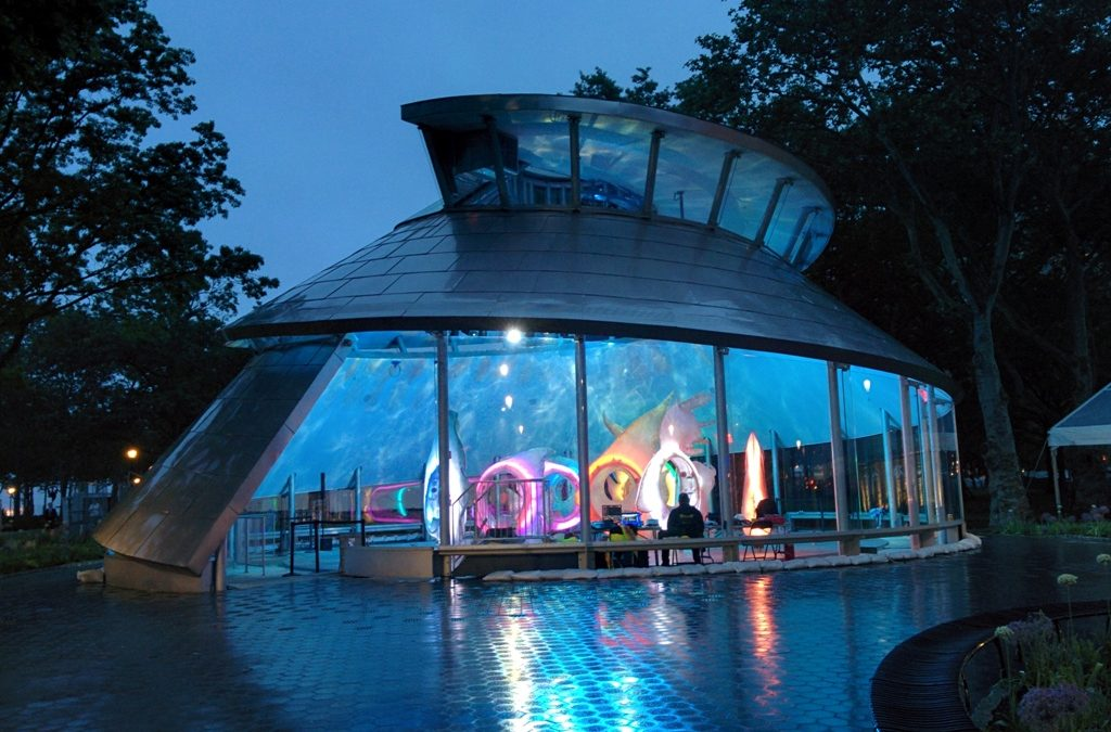 Building Structure – Seaglass Carousel at Battery Park, NY