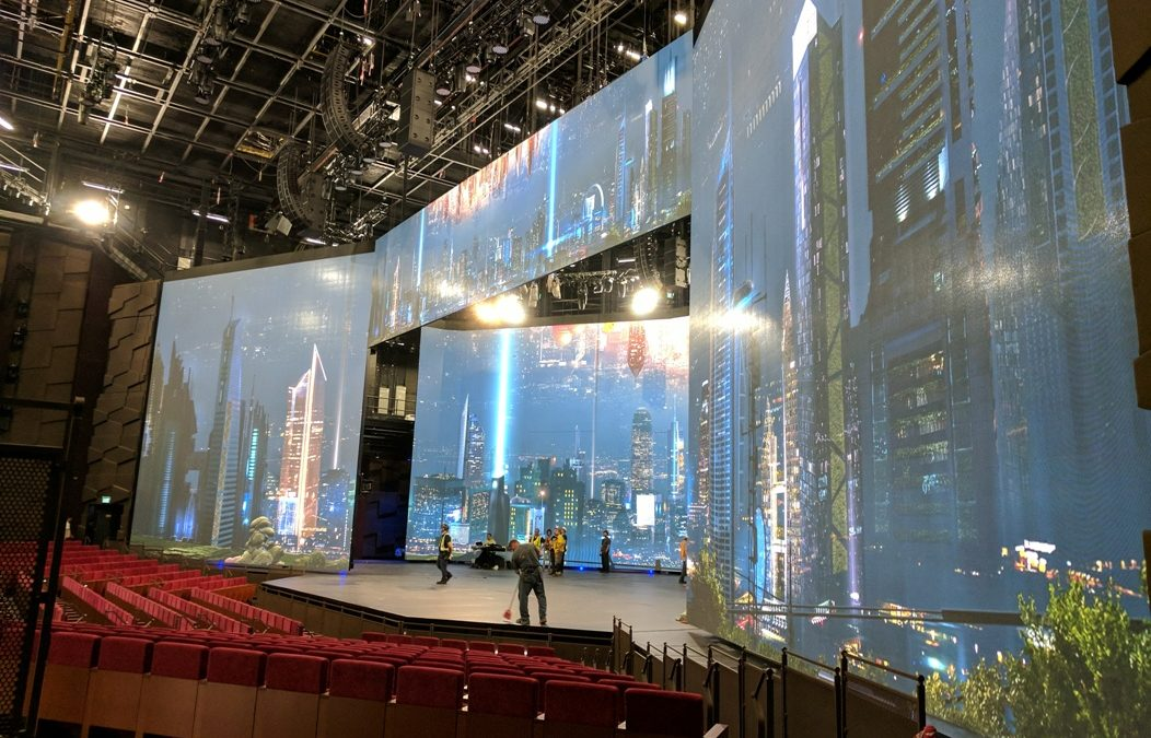 Video Wall and Theater Equipments – MGM Cotai