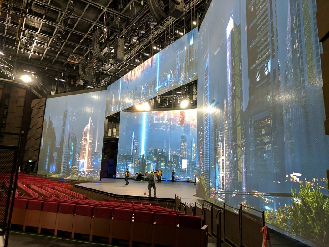 Video Wall - MGM Cotai