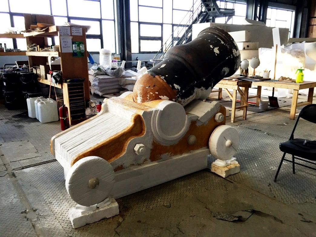 Treasure Cove cannon