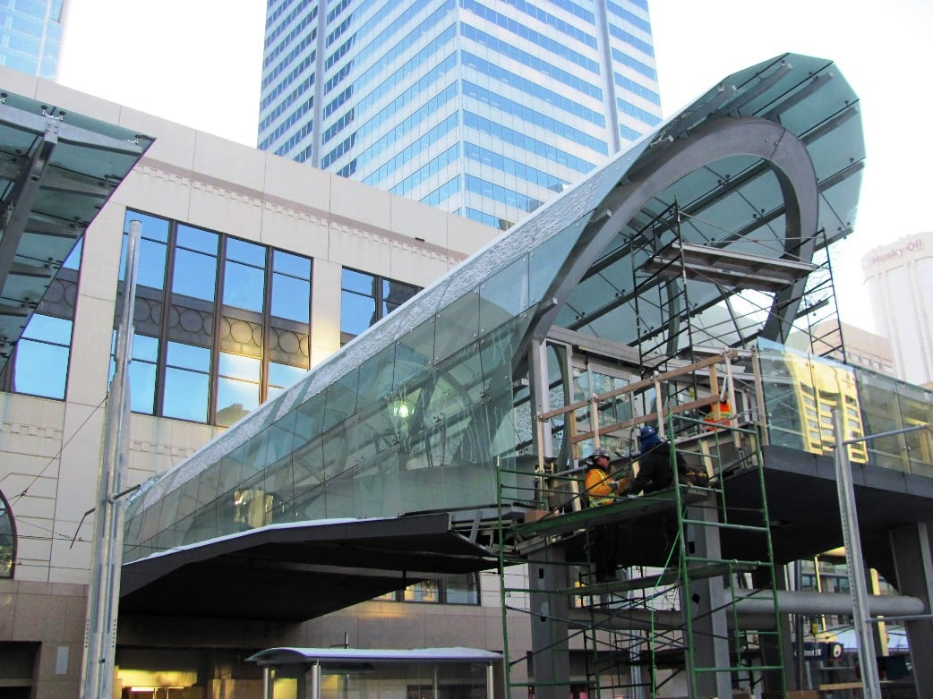 Platform - Calgary Train Station