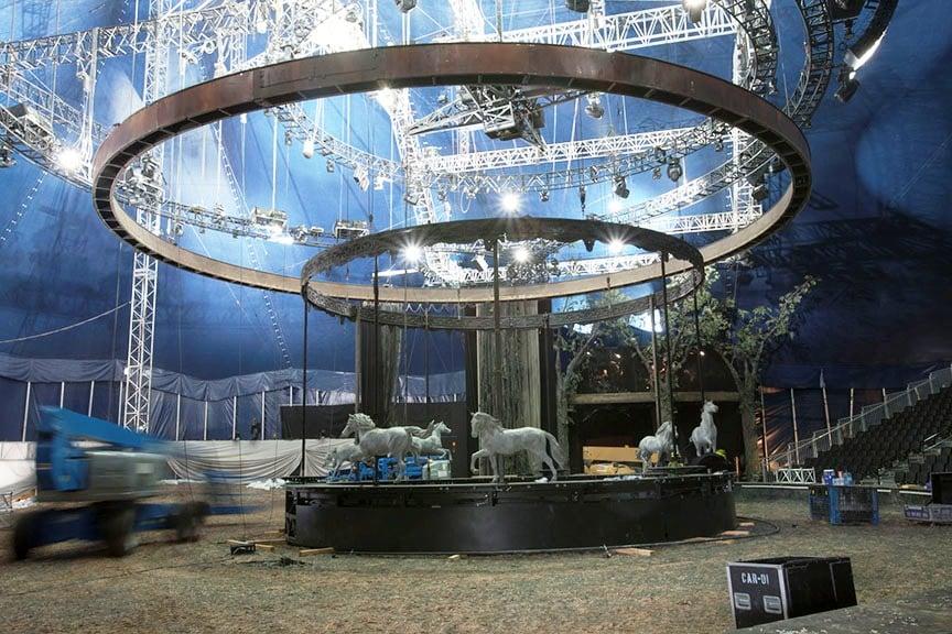 Carousel Installation