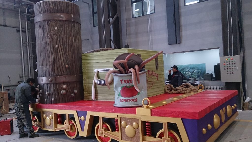 The float in our workshop