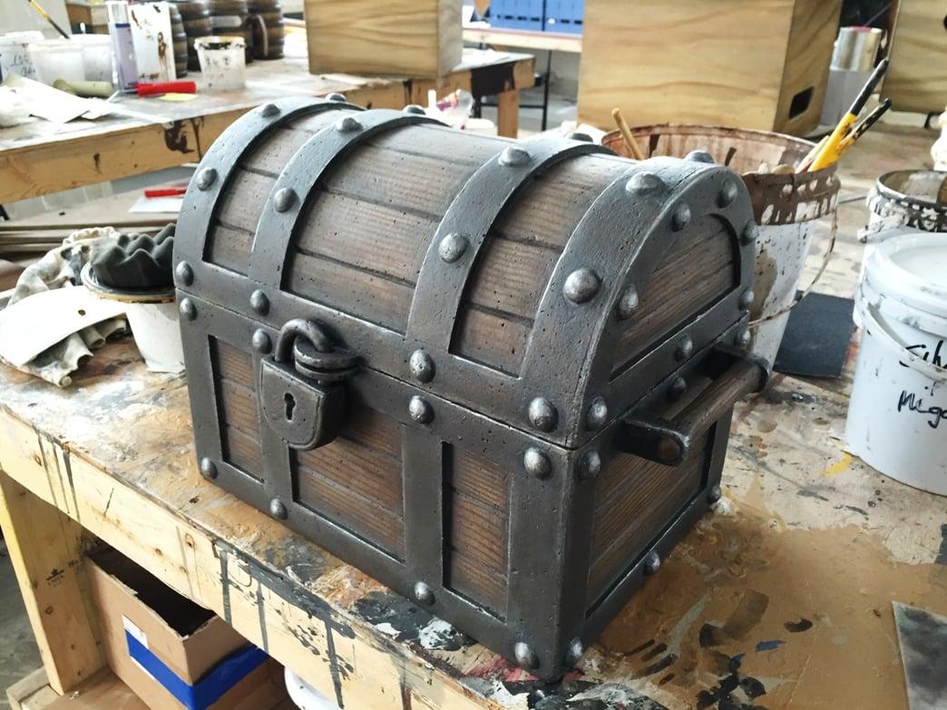 Treasure Cove treasure chest