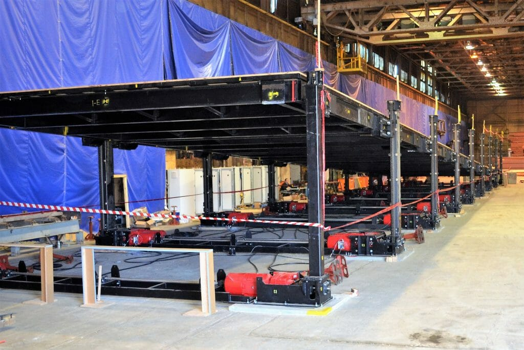 Main ramp test in our workshop