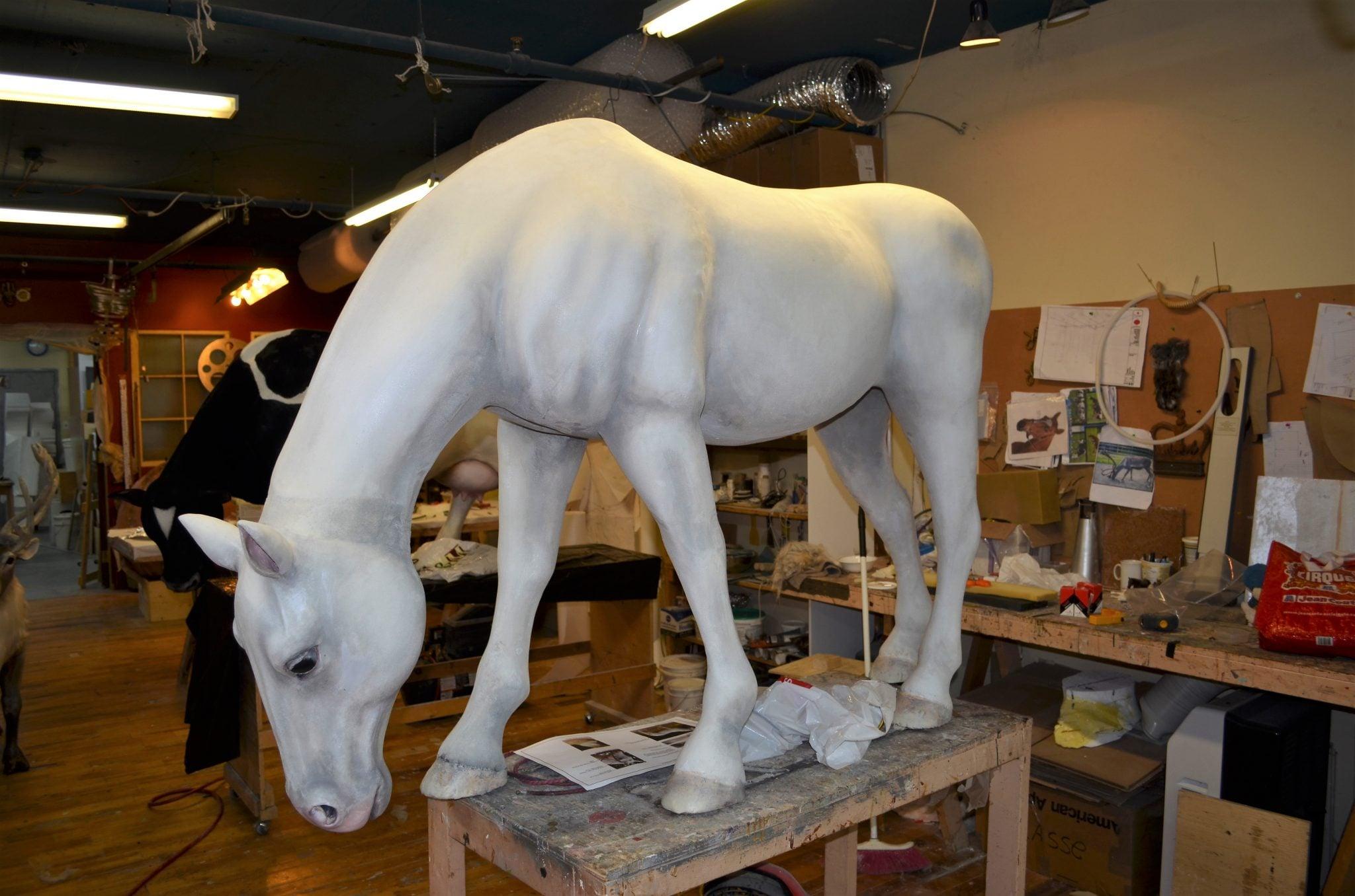 Horse making
