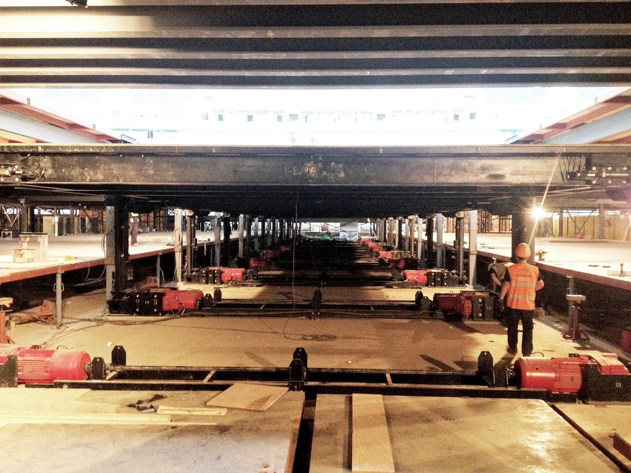 Main Ramp Lift Installation