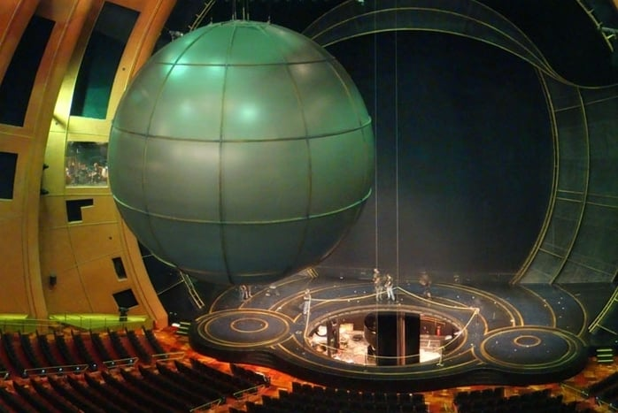 Stage Lift, Stage & Bridge Crane - Cirque du Soleil Zaia